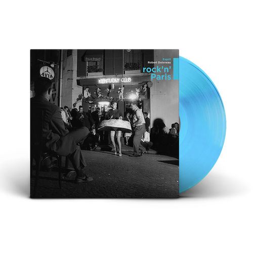 Various Artists: Rock N' Paris: Limited Edition Teal Vinyl