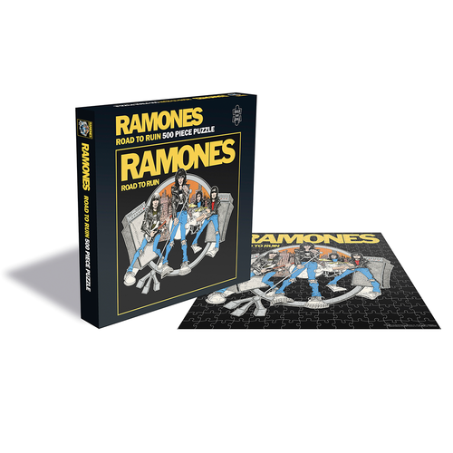 Ramones: Road To Ruin (500 Piece Jigsaw Puzzle)