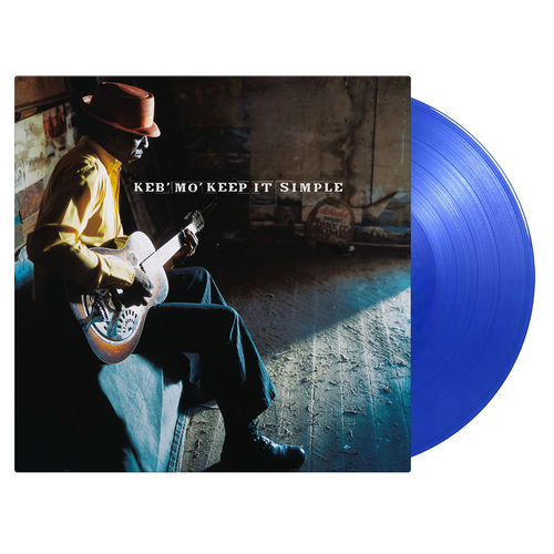 Keb'Mo': Keep It Simple: Limited Blue Vinyl