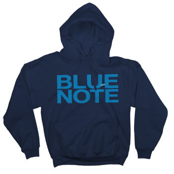 Blue Note: Official Blue Note Records Full Chest Logo Hoodie