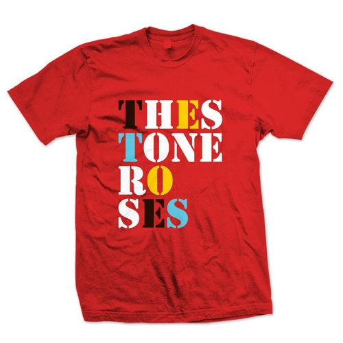 The Stone Roses: Kids Red Logo T-Shirt