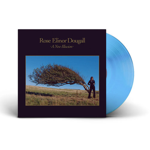 Rose Elinor Dougall: A New Illusion: Signed Limited Edition Transparent Blue Vinyl