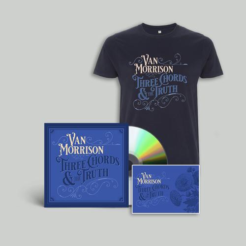 Van Morrison: CD + T-Shirt + Print