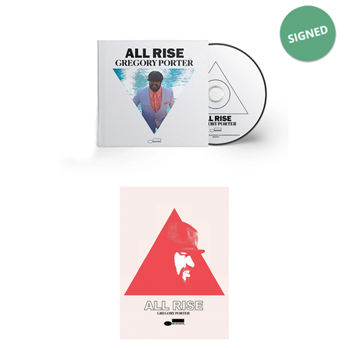 Gregory Porter: ALL RISE Signed Deluxe CD & Print Bundle