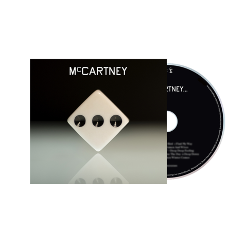 Paul McCartney: McCartney III - Deluxe Edition White Cover CD