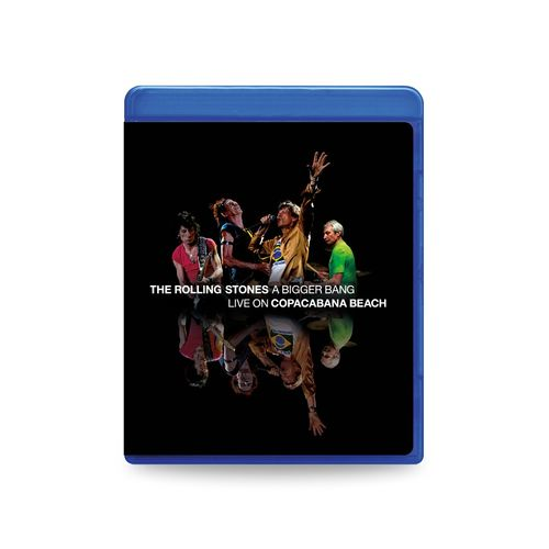 The Rolling Stones: 'A Bigger Bang' Live On Copacabana Beach: SD Blu-Ray + 2CD