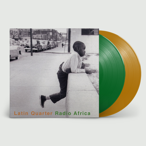 Latin Quarter: Radio Africa: Limited Edition Green and Orange Vinyl
