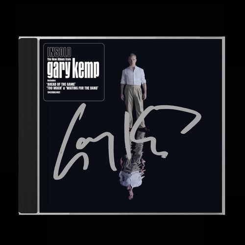 Gary Kemp: INSOLO Signed CD