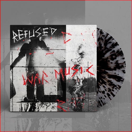 Refused: War Music Clear Splatter Vinyl