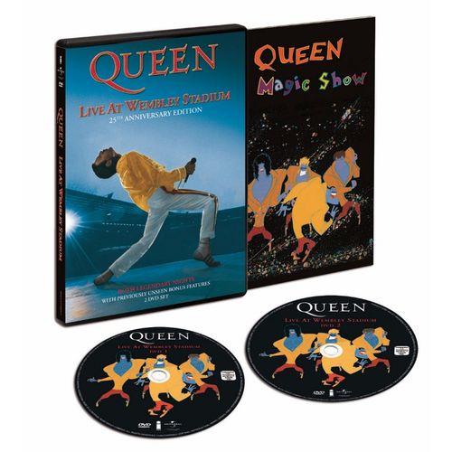Queen: Live At Wembley Stadium [2DVD/2CD]