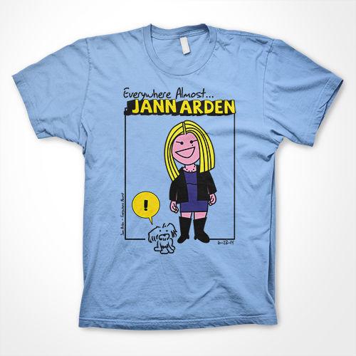 Jann Arden: Everywhere Almost Powder Blue Tour Tee