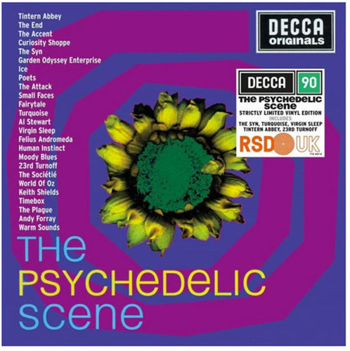 Various Artists: The Psychedelic Scene: Double Heavyweight Vinyl [RSD 2019]