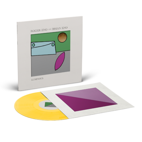 Roger Eno & Brian Eno: Luminous: Limited Edition Yellow Vinyl