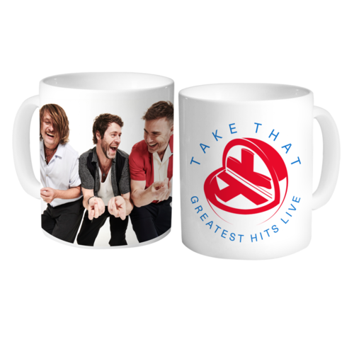 Take That: Greatest Hits Mug