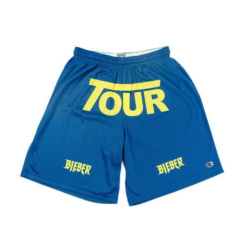 Justin Bieber: Tour Blue Shorts