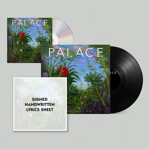 Palace: Life After: Limited Edition Vinyl and CD with Signed Handwritten Lyrics Print