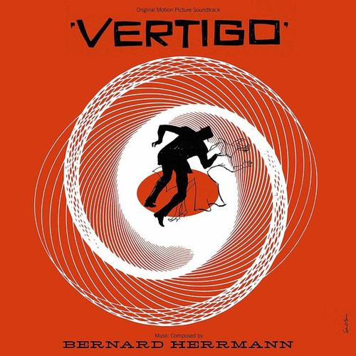 Bernard Herrmann: Vertigo: 60th Anniversary Edition Heavyweight Black Vinyl
