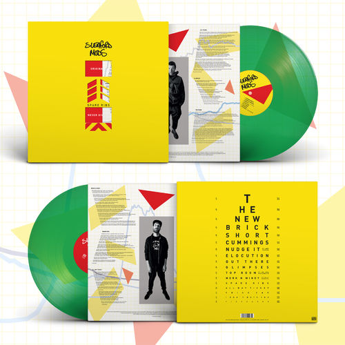 Sleaford Mods: Spare Ribs: Limited Edition Transparent Green Vinyl