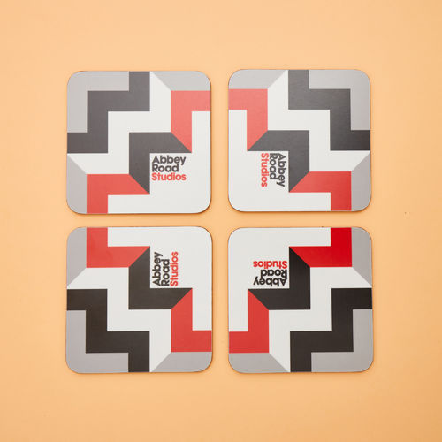 Abbey Road Studios: Abbey Road Geometrics Coaster Set of Four