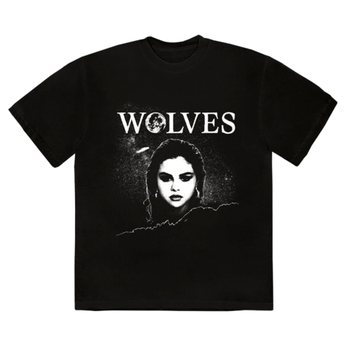 SelenaGomez: Wolves T-shirt