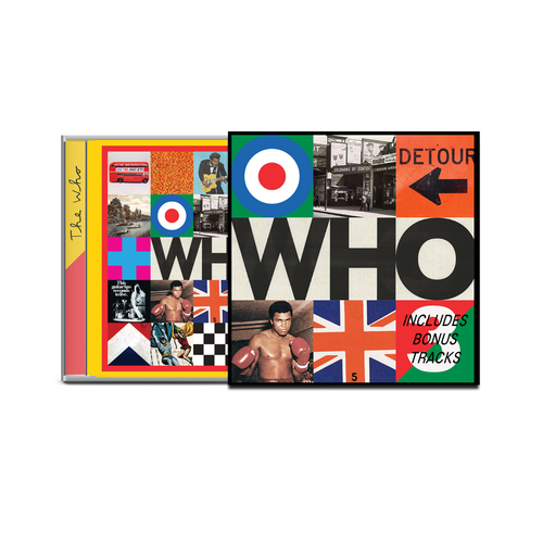 The Who: WHO Deluxe CD