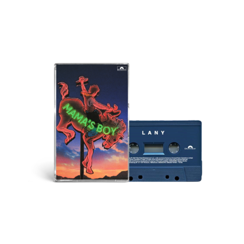 "LANY: ""mama's boy"" collectible cassette 1/4: lany"