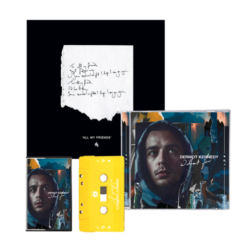 Dermot Kennedy: Without Fear: CD, Cassette + All My Friends Signed + Numbered Lithograph