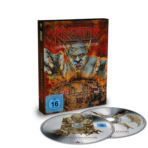 Kreator: London Apocalypticon: Blu-Ray + CD Digibook