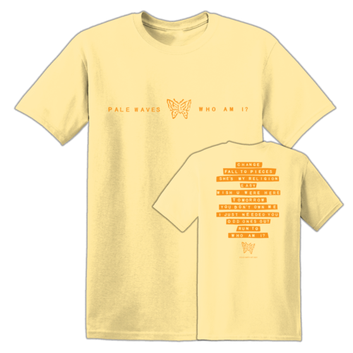 Pale Waves: Orange Tee