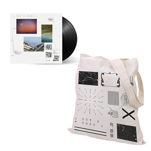 Cut Copy: Haiku From Zero Vinyl And Tote Bag