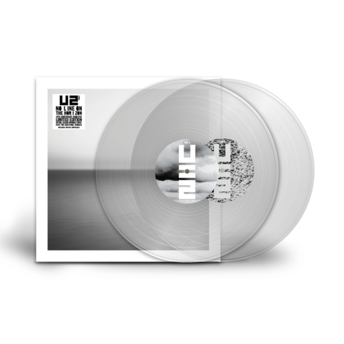 U2: No Line On The Horizon: Ultra-Clear Coloured Vinyl