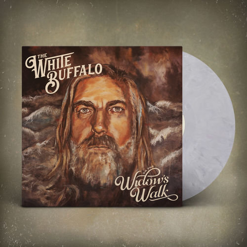 The White Buffalo: On The Widow's Walk Grey Marbled