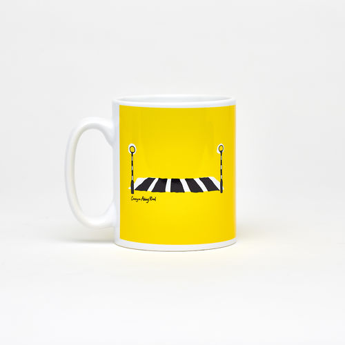 Abbey Road Studios: Abbey Road Crossing Mug Yellow