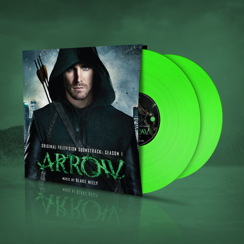 Blake Neely: OST / Arrow Season 1 (2LP) Green Vinyl