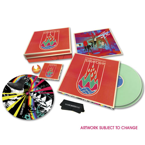 Sam Roberts Band: TerraForm Limited Edition 2LP Boxset + Autographed Litho