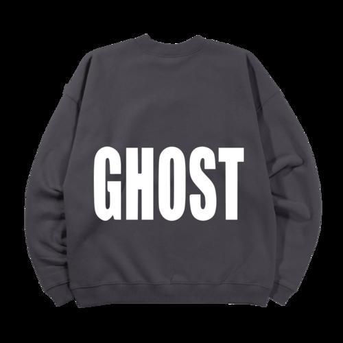 justin bieber: Ghost Lyrics Crewneck I