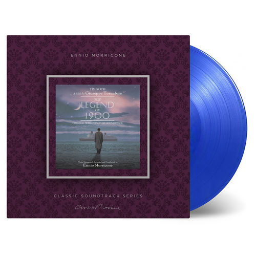Ennio Morricone: The Legend of 1900: Limited Edition Blue Coloured Vinyl
