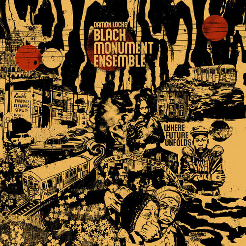 Damon Locks: Black Monument Ensemble: Limited Edition Crimson + Black Vinyl LP