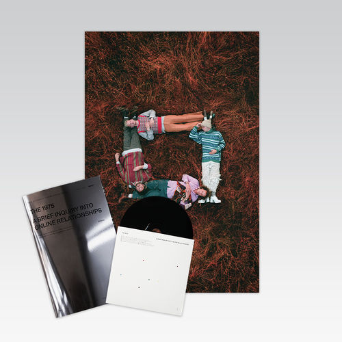 The 1975: A Brief Inquiry Into Online Relationships Limited Edition Manifesto CD