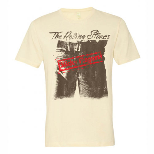 The Rolling Stones: THE ROLLING STONES - STICKY FINGERS - LARGE T-SHIRT