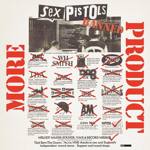 Sex Pistols: More Product