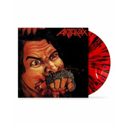 Anthrax: Fistful Of Metal: Limited Edition Red & Black Splatter Coloured Vinyl