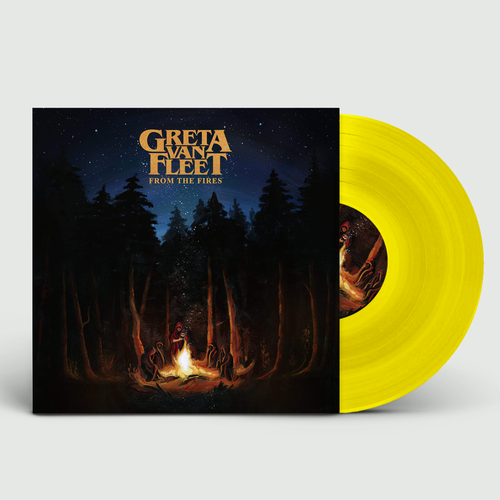 Greta Van Fleet : From The Fires: Limited Edition Yellow Vinyl
