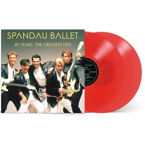 Spandau Ballet: 40 Years The Greatest Hits: Limited Edition Red Vinyl