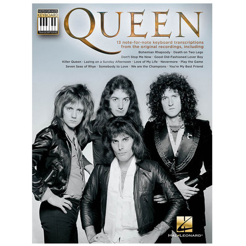 Queen: Queen: Note-For-Note Keyboard Transcriptions