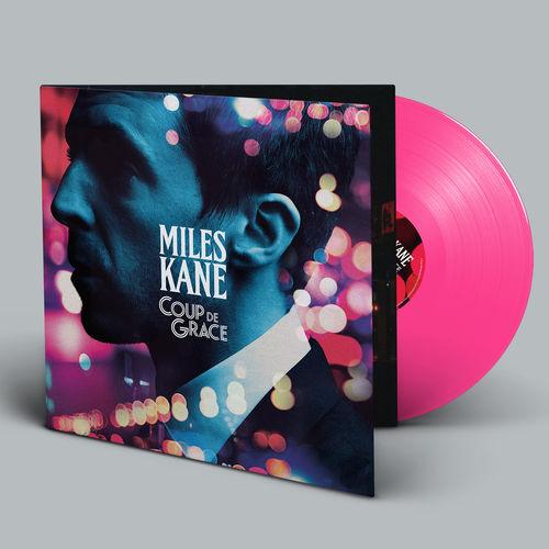 Miles Kane: Coup De Grace Limited Edition Gatefold Pink Vinyl (SIGNED)