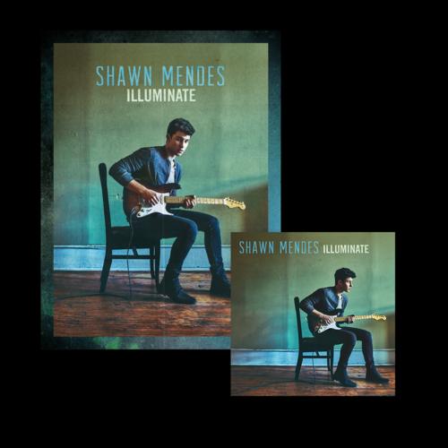 Shawn Mendes: Illuminate Signed Premium Deluxe MP3 Bundle