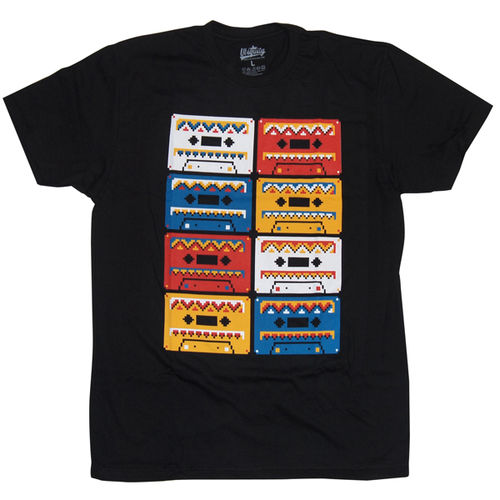 Ubiquity Records: Cassette Pattern T-Shirt