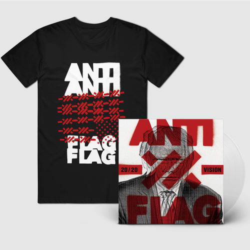 Anti-Flag: Clear Vinyl And T-Shirt Bundle