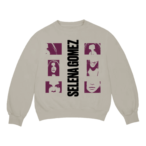 Selena Gomez : Lose You To Love Me Tan Crewneck